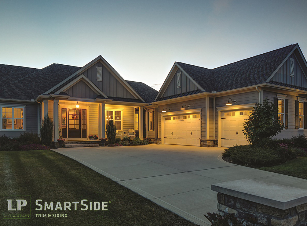 Expert siding repair and replacement solutions from muller for Lp smartside lap siding sizes